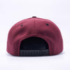 PIT BULL Maroon Black Wool Blend Snapback Hats Wholesale