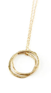 Ciel Double Circle Necklace