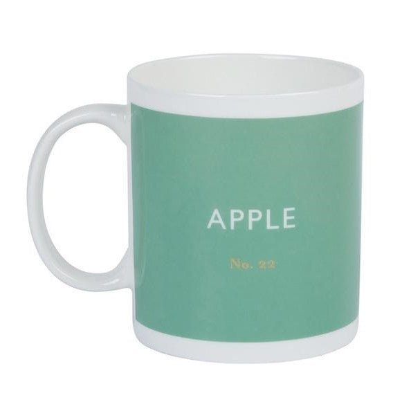 Apple green mug Kitchen Designed in Colour - Brand Academy Store