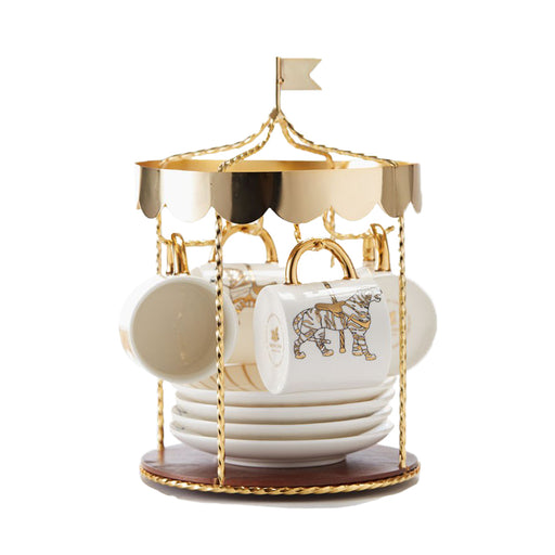 Carousel tea set Kitchen Maid In China - Brand Academy Store