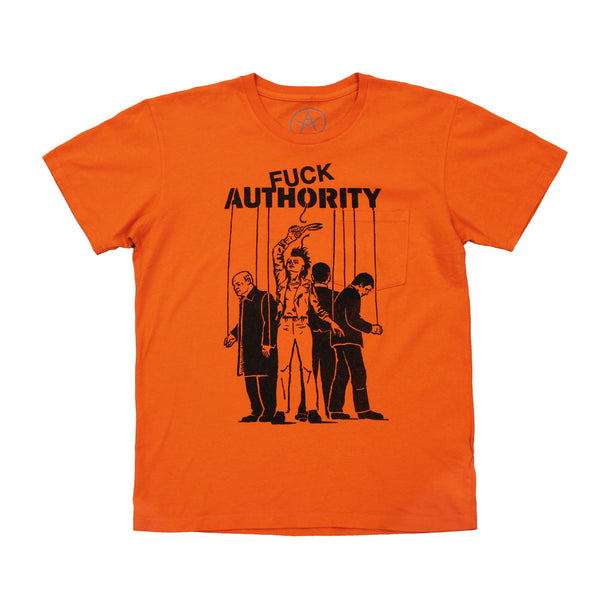 Anti Authority pocket tee