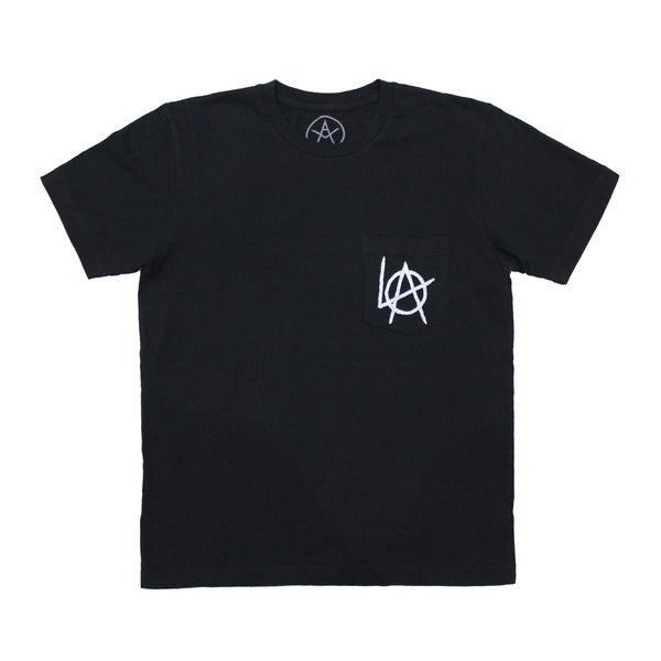 LA Anarchy pocket tee