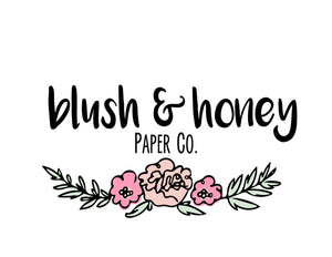 Blush & Honey Paper