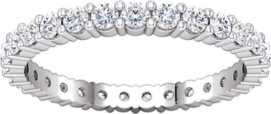 Classic Eternity Band (Prong-Set)