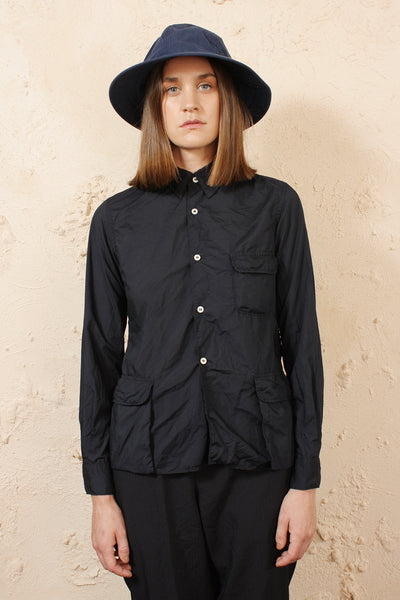 Navy Pocket Shirt