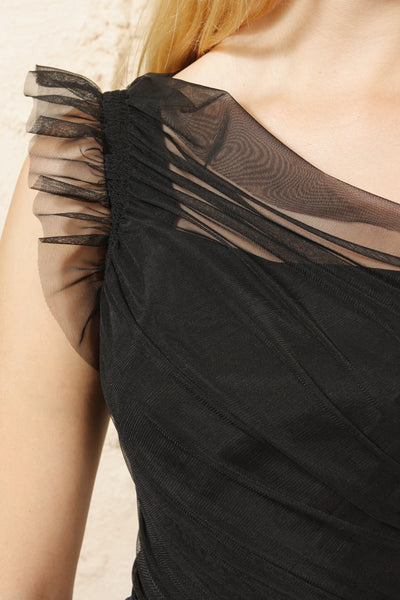 TED Tulle Detail Dress