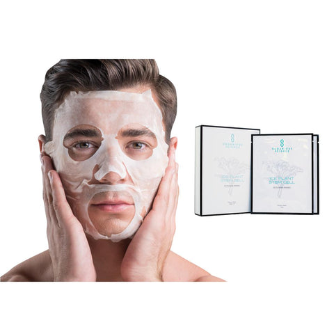 Award Winning Ice Plant Stem Cell Facial Sheet Masks - Organique Science