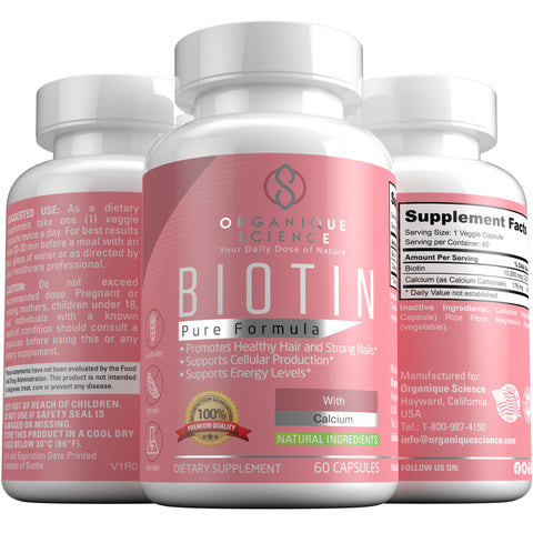 Pure Biotin - Organique Science