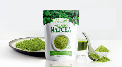 My Tea - Matcha Green Tea Powder - Organique Science
