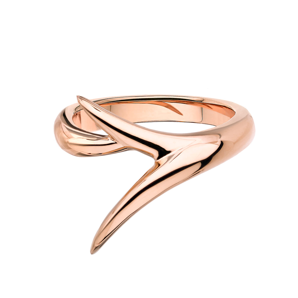 18ct Rose Gold Interlock Me Promise Ring