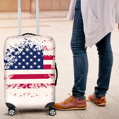 American Grunge Luggage Cover