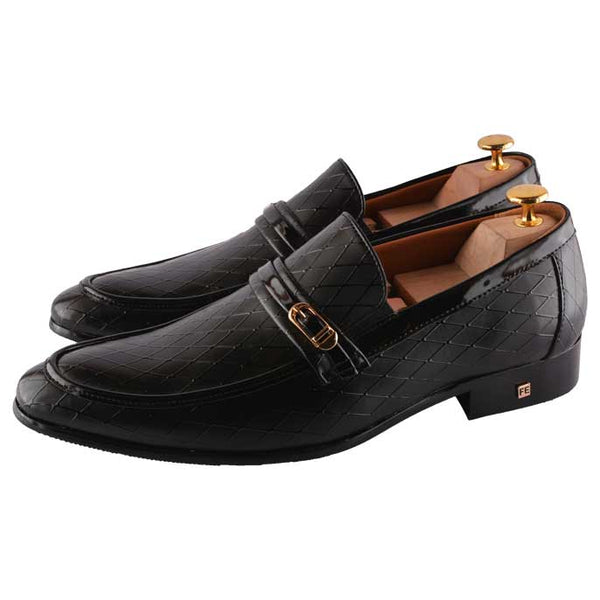Formal Shoes For Men in Black SKU: SMF0091-BLACK