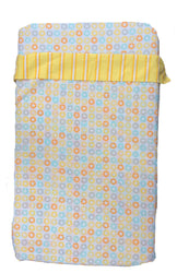 100% Cotton - Cot Sheets Yellow