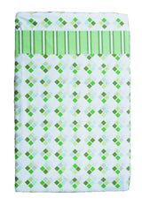100% Cotton - Compact Cot / Travel Cot Sheets Green