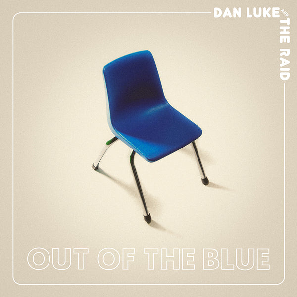 Dan Luke and The Raid - Out Of The Blue [SIGNED New West Exclusive Colored Vinyl + Long-Sleeve Shirt Bundle]