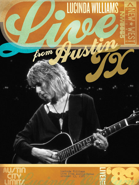 Lucinda Williams - Live From Austin, TX '89 [DVD]