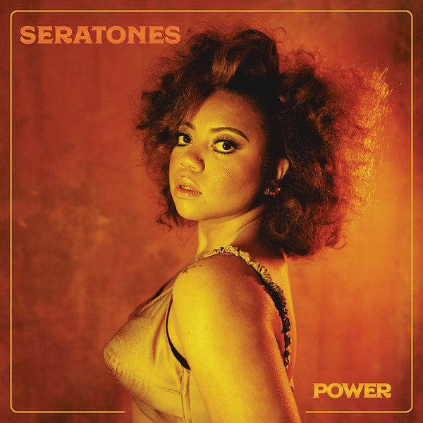 Seratones - POWER [SIGNED New West Exclusive Colored Vinyl + T-Shirt Bundle]