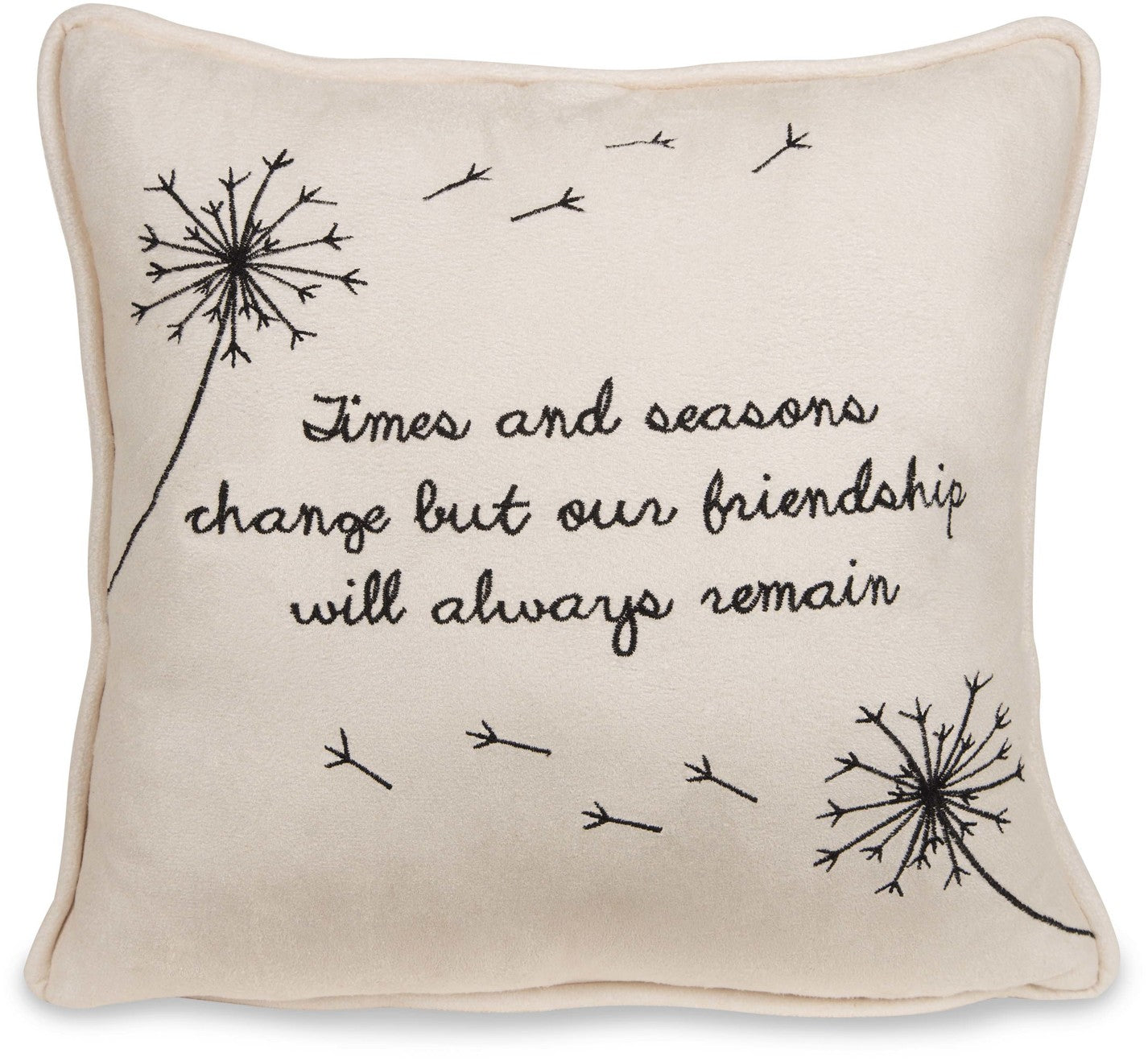 "Friendship - 12"" Micro Suede Pillow"