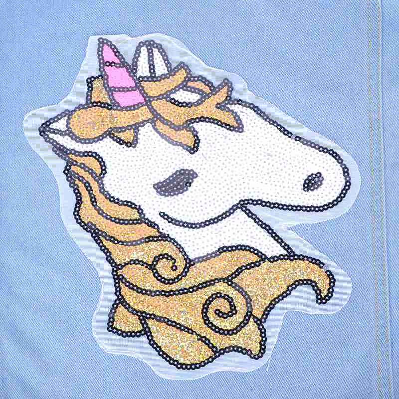 Unicorn Patches For Clothes Sew