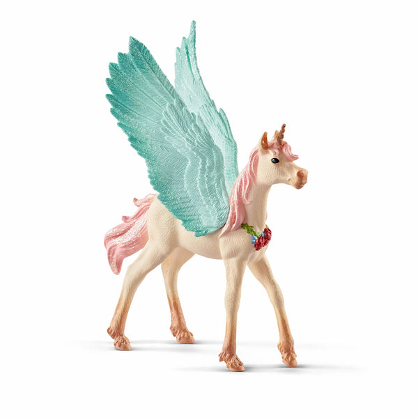 Schleich Bayala Decorated Unicorn Pegasus Foal 70575 canada ontario