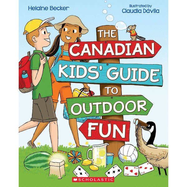The Canadian Kids' Guide to Outdoor Fun scholastic canada ontario helaine becker