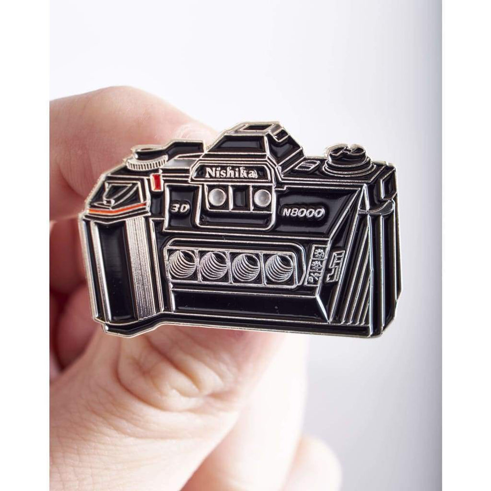 Nishika 3D Camera Pin - Pin