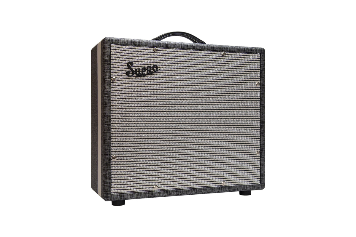Supro Black Magick Reverb Extension Cabinet 1X15