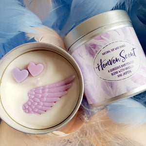 Heaven Scent Natural Soy Wax Candle - Large Size (12oz)