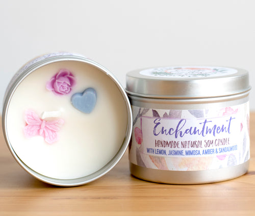 Enchantment Soy Wax Candle - Standard Size (8oz)