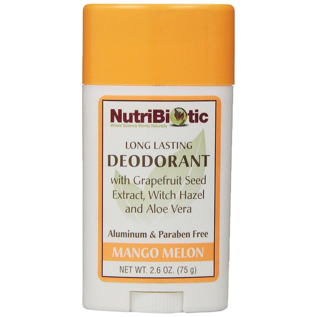 Déodorant Mangue Melon 75 g de NutriBiotic