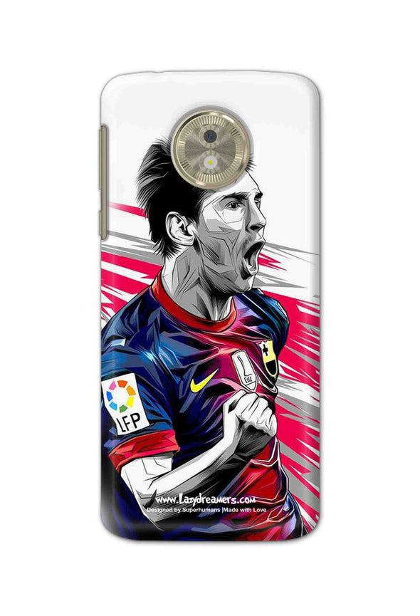Motorola Moto G6 Play - Lionel Messi Fan Artwork