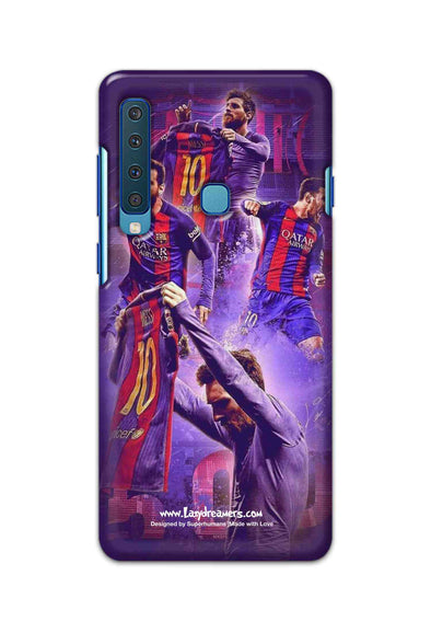Samsung Galaxy A9 2018 - Lionel Messi Celebration Collage