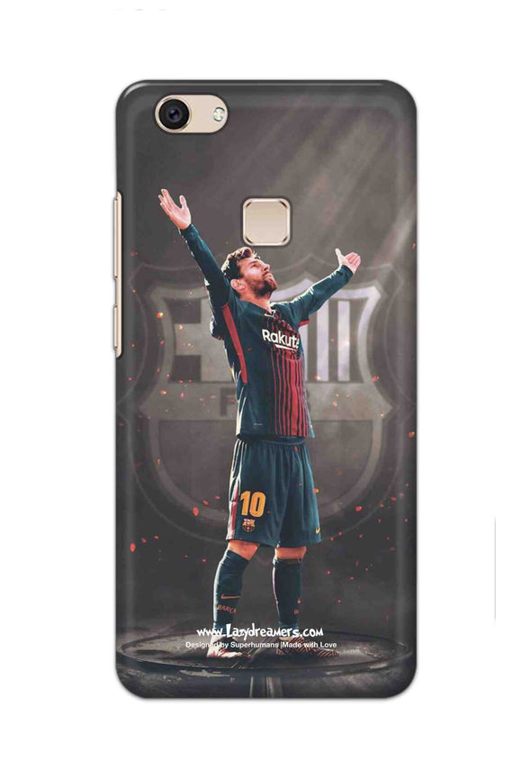 Vivo V7 Plus - Lionel Messi Celebration