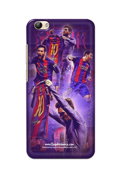 Vivo Y66 - Lionel Messi Celebration Collage