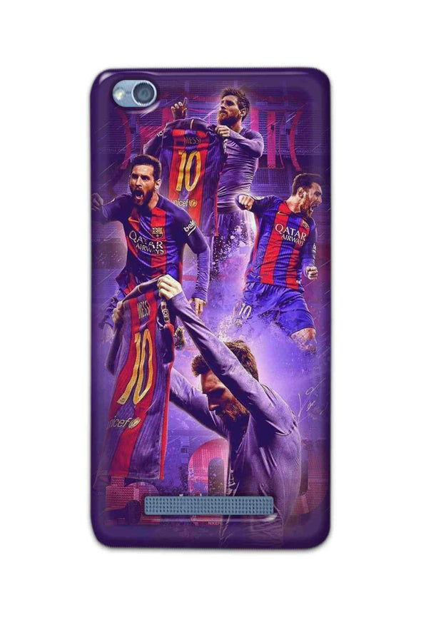 Xiaomi Redmi 4A - Lionel Messi Celebration Collage