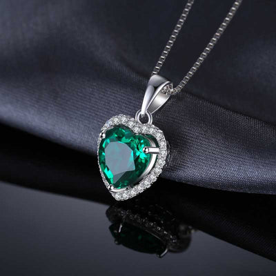 Heart Of Ocean Emerald Necklace best mother's day luxury gift - jpgstorepro.com