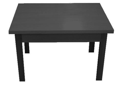 "Display Table 48"" W x 36"" D x 29"" H"