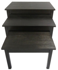 "Display Table 32"" W x 24"" D x 19"" H"