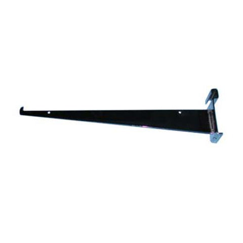 14 inch shelf bracket grid black