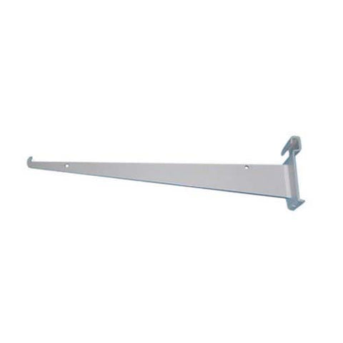 14 inch shelf bracket grid white