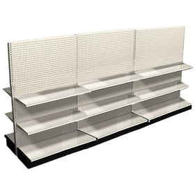<strong>12' Long Retail Shelving Row Double Sided</strong>