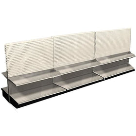 <strong>12' Long Display Shelving Row Double Sided</strong>