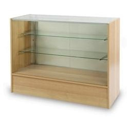 <strong>4' Full Vision Panel Sided Display Case - Econoline Series Showcase</strong>