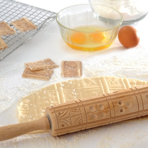 Springerle Wooden Rolling Pin