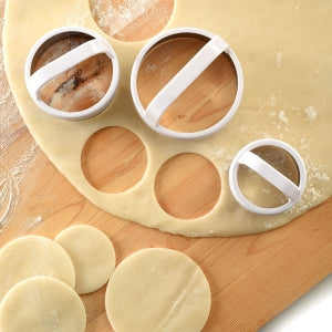 Plain Biscuit/Cookie Cutters (Set of 3)