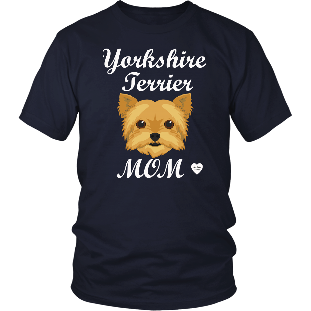 Yorkshire Terrier Mom T-Shirt