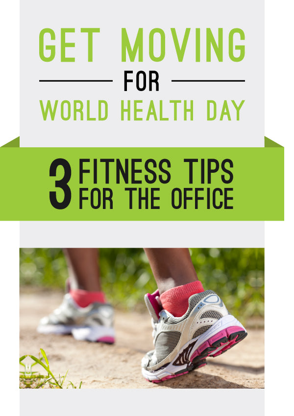 Three Fitness Tips For the Office