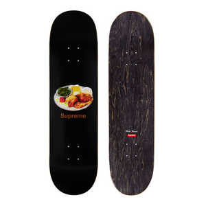 "SUPREME - SKATEBOARD DECK ""CHICKEN DINNER"" - BLACK (S/S 2018)"