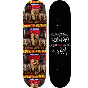 "SUPREME - SKATEBOARD DECK ""THE WAR REPORT"" - BLACK (S/S 2016)"