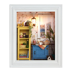 DIY Dollhouse - Photo Frame - Warm Dawn - Toys & Games - Toys - Dolls, Playsets & Toy Figures - Dollhouses - PlayAge